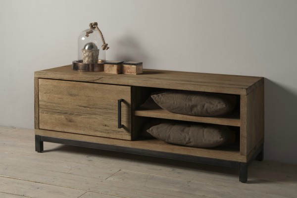 TV dressoir Smoke Brown